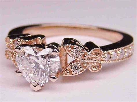 Rose Gold Wedding Rings For Women   Wedding and Bridal