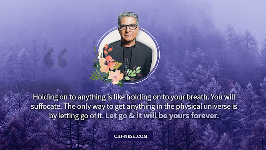 TOP 9 Best Deepak Chopra Quotes and Sayings You Should Know - Law of Attraction Blog