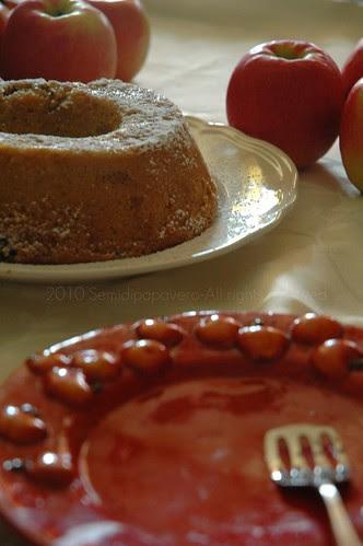 Ciambella mele e tè