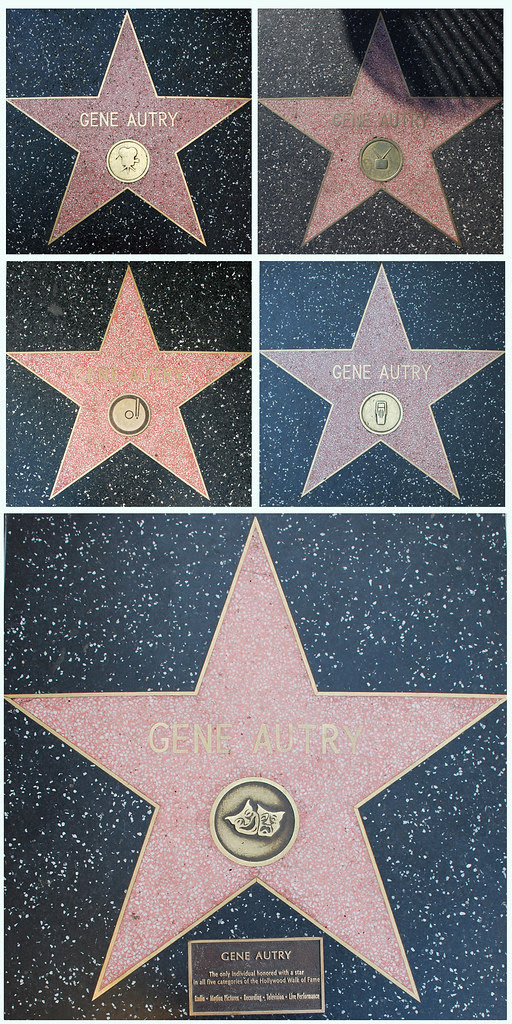 Gene Autry Walk of Fame Quintet