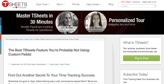 10 Blog Post Ideas for Time Tracking Startups - Lantern Content Marketing