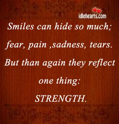 Quotes About What A Smile Can Hide