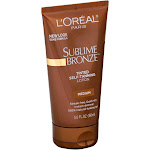 Loreal Sublime Bronze Self-Tanning Lotion, Tinted, Medium - 5.0 fl oz