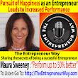 061: Pursuit of Happiness as an Entrepreneur Leads to Increased Performance with Maura Sweeney Cofounder of New Vision Entertainment LLC - The Entrepreneur Way