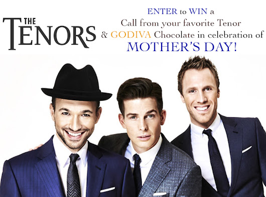 The Tenors Mother's Day Giveaway