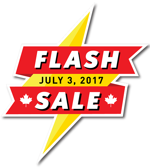 Canada Day Flash Sale | July 3, 2017  | Performance Auto Group