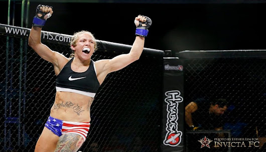 "ICYMI: "".50 Kal"" Kalyn Holliday: I want Invicta to trust I'm a reliable and available fighter"