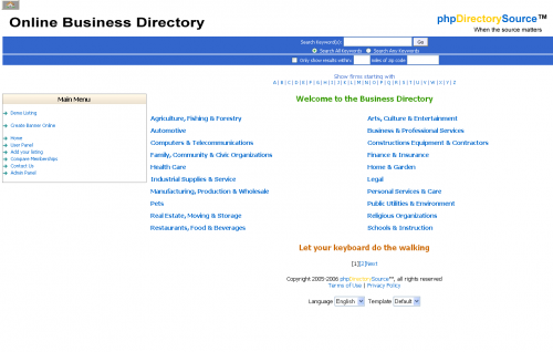 phpDirectorySource 1.1