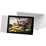 """Lenovo - 8"""" Smart Display with Google Assistant - White/Gray"""