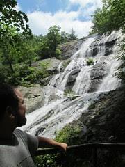 Crabtree Falls, upper by Teckelcar