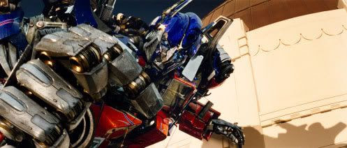 Optimus Prime ready for battle.