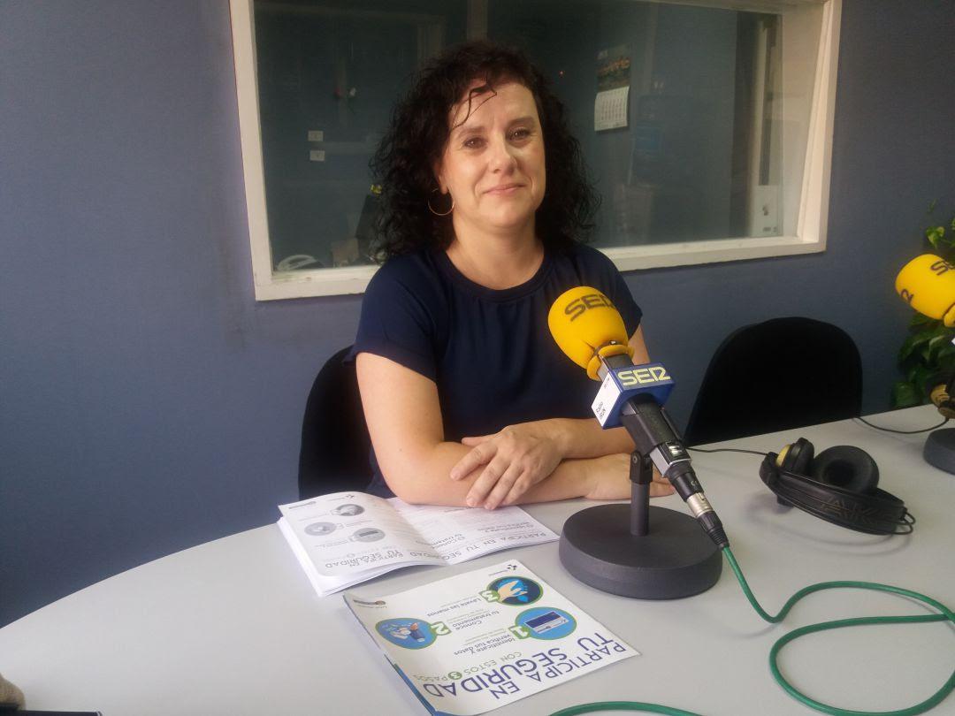 Amaia Altube, enfermera del servicio de preventiva y de seguridad del paciente de OSI Bidasoa.