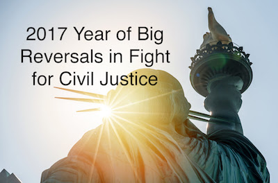 2017 Reversals Big Story for Civil Justice