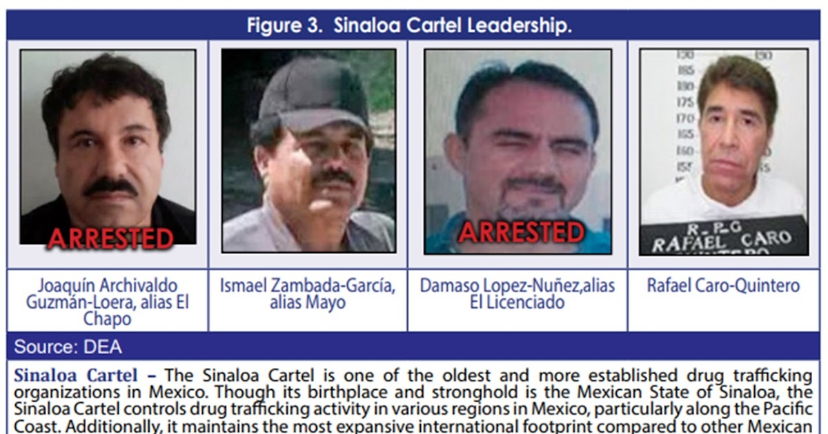 Borderland Beat: Goodbye El Chapo, there is a new leader in Sinaloa
