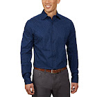 Ben Sherman Men's Dress Shirt, Blue, 15 - 34/35