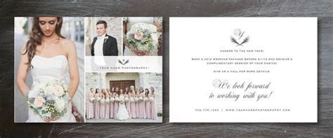 Flyer Template for Photographers Wedding Photography
