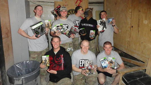 Hackers attack games-for-troops charity drive