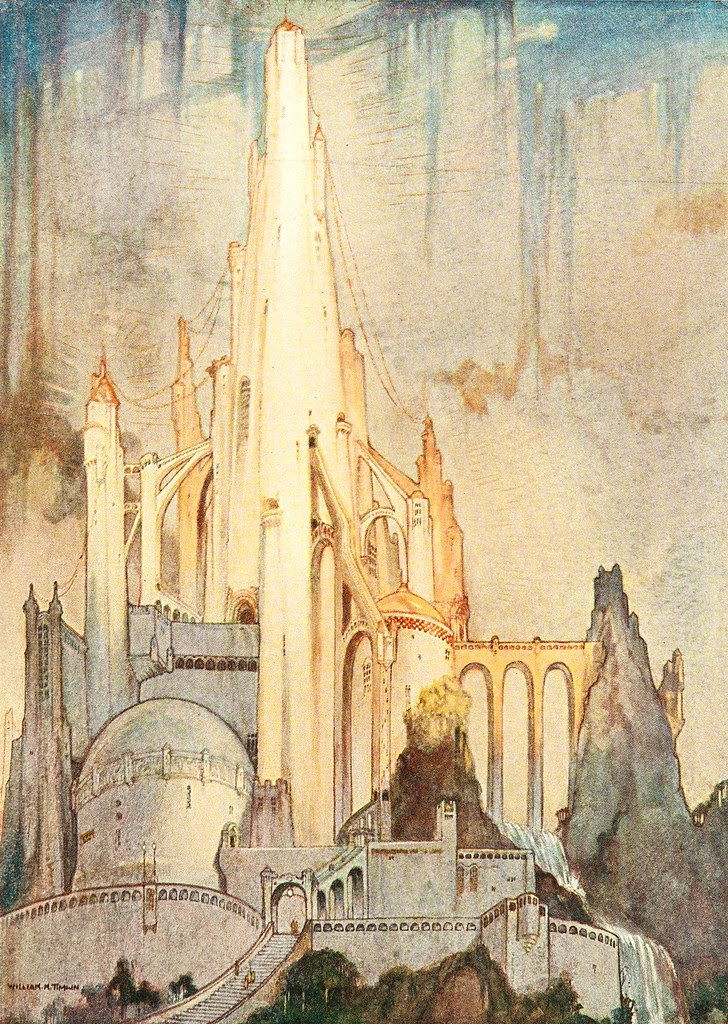 William Timlin - The Temple (1923)