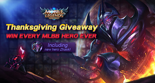 Win all MLBB Heroes including the new Hero Zhask!