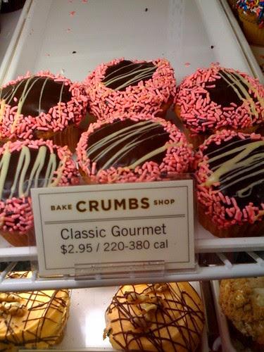 Crumbs Bakeshop Midtown NYC cupcakes