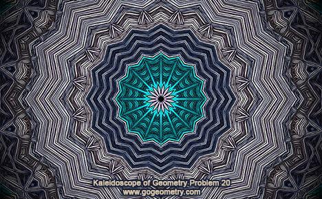 Kaleidoscope of Geometry Problem 20. Mobile Apps, iPad, iPhone