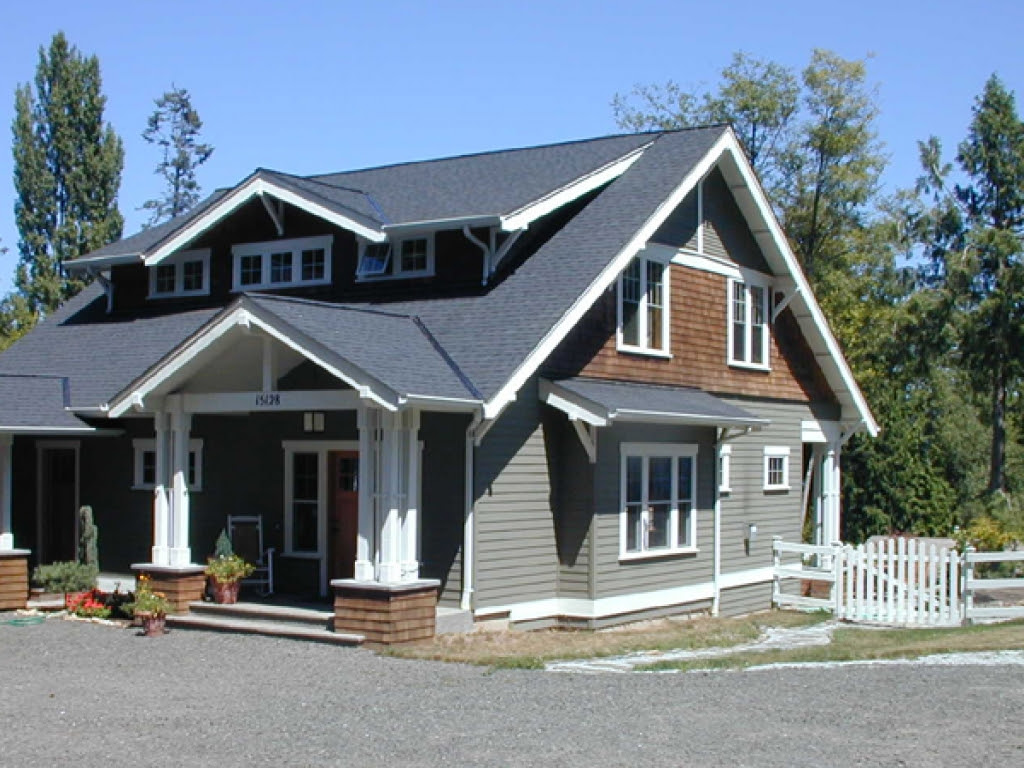 Craftsman Style  Bungalow  House  Plans  Small  House  Plans