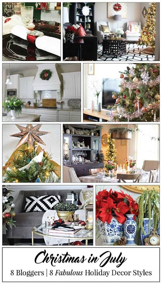Christmas in July | Holiday Inspo & Dreaming of Decking the Halls