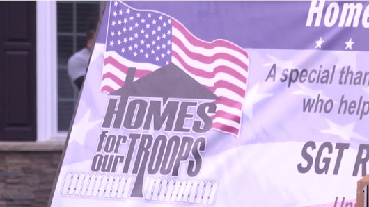 Local war veteran is awarded a new home