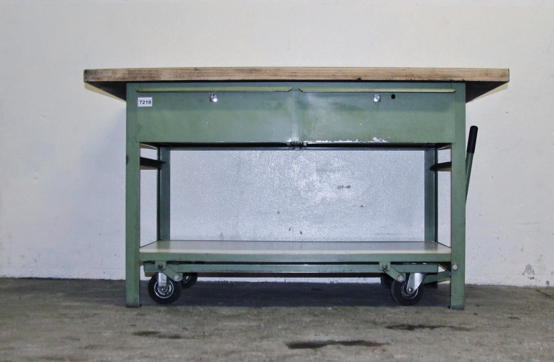 Fahrbare Werkbank | 150x70cm | mobile Werkbank *7218* | eBay