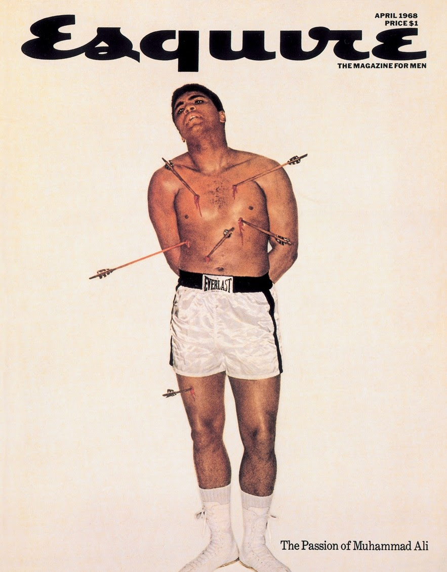 Esquire cover Muhammad Ali