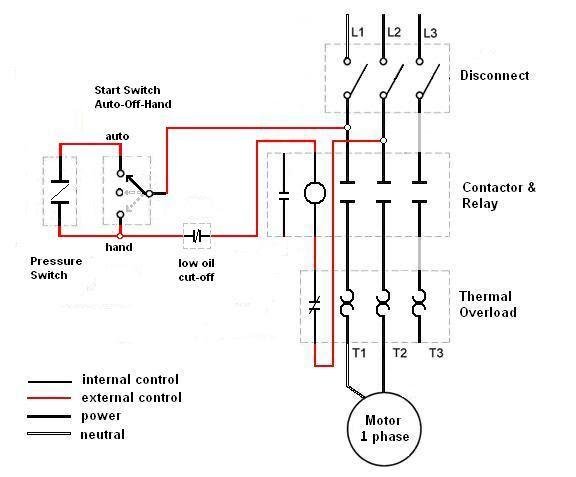 3 Phase Air Compressor Pressure Switch Wiring Diagram Pdf