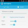 Text-to-voice your own ringtone with Type Your Ringtone