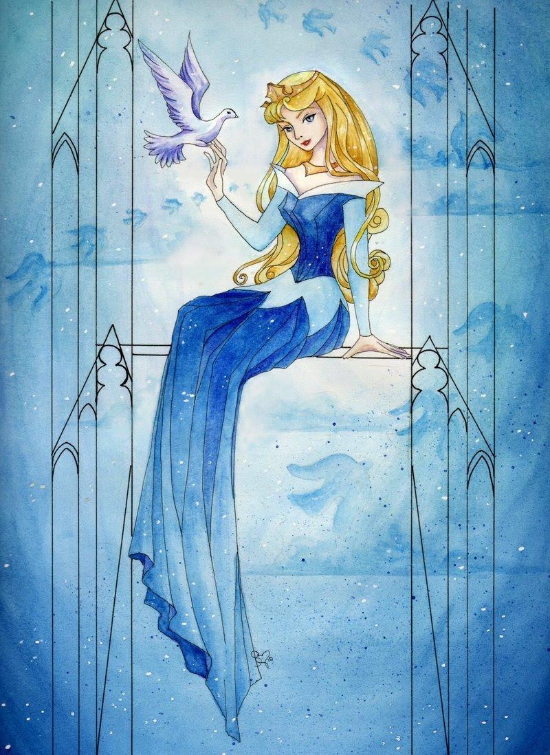 Aurora - Disney Princess Fan Art (17010950) - Fanpop