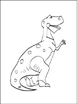 Coloring Page Rex Of Toy Story Coloring Pages
