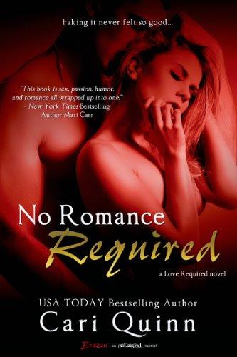 No Romance Required (Entangled Brazen) by Cari Quinn