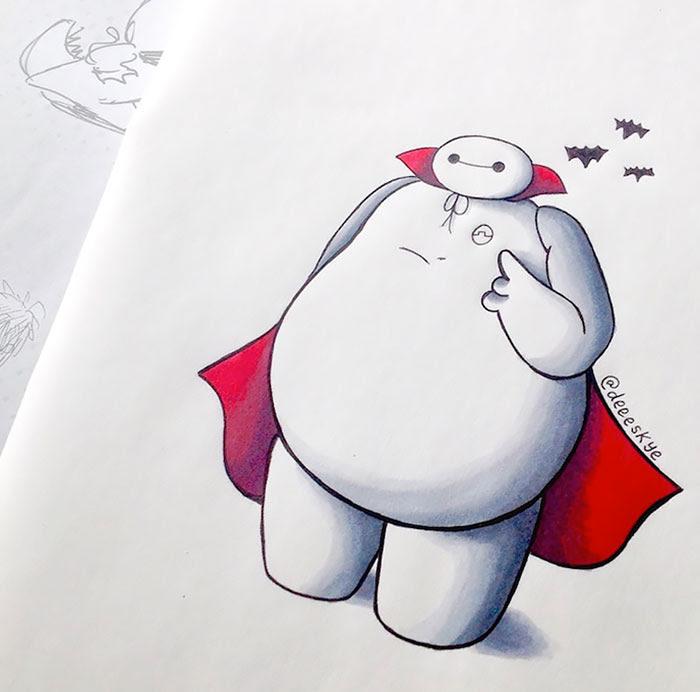 dibujos-baymax-personajes-disney-demetria-skye (21)