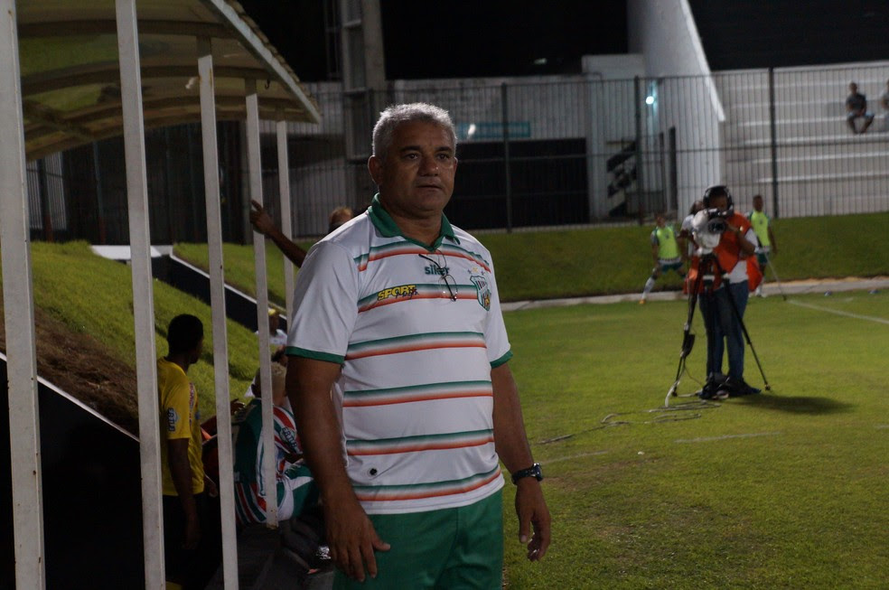 Cícero Ramalho foi ídolo no Baraúnas e Potiguar de Mossoró e fez história no Estádio Nogueirão (Foto: Augusto Gomes/GloboEsporte.com)