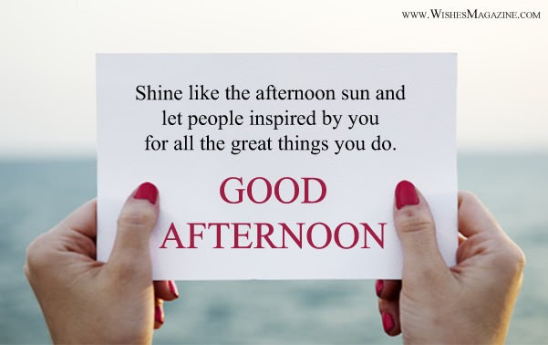 Latest Good Afternoon Wishes Happy Good Afternoon Messages