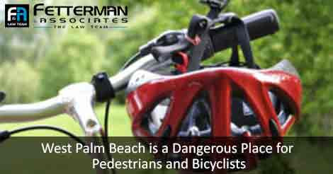 West Palm Beach is a Dangerous Place for Pedestrians and Bicyclists