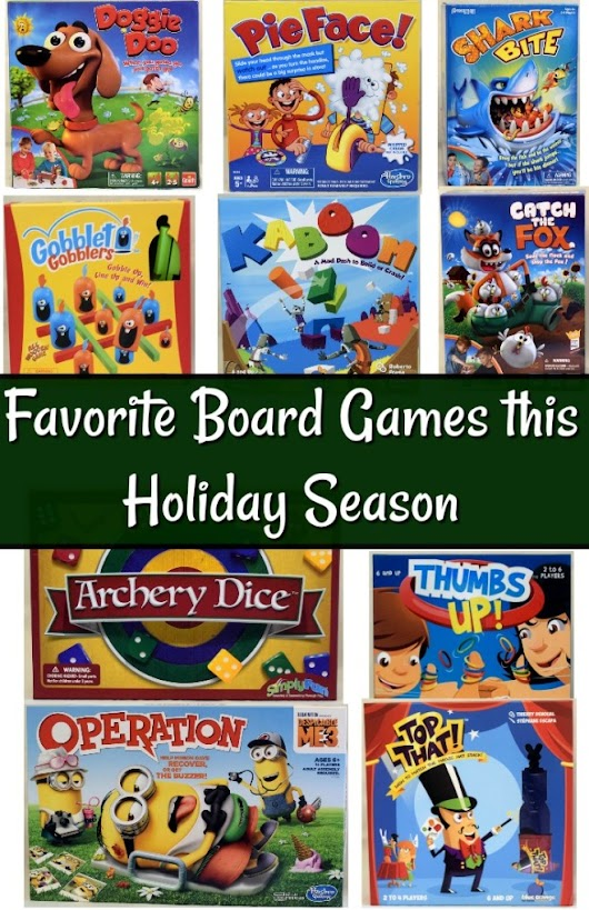 10 Best Board Games for Kids This Holiday Season