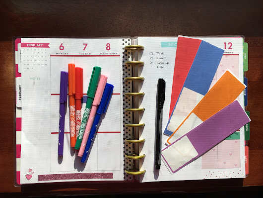 How I bullet journal in my Happy Planner (Giveaway!) - Happy. Pretty. Sweet.
