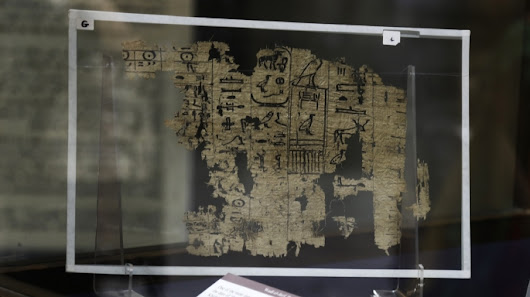 Egypt's Oldest Papyri Detail Great Pyramid Construction