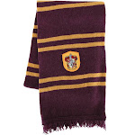 Elope Harry Potter Gryffindor Scarf Adult Halloween Accessory, Gold/Maroon, One Size