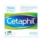 Cetaphil Gentle Cleansing Bar 6-pack