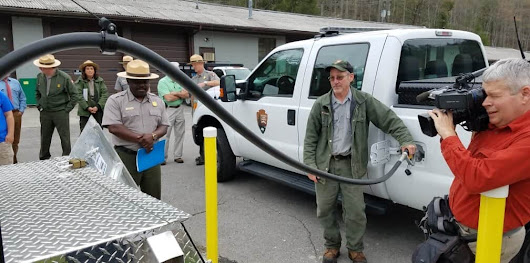 Making Moves: National Park 'Greens' Fleet with Propane Trucks, Fueling Stations - NGT News