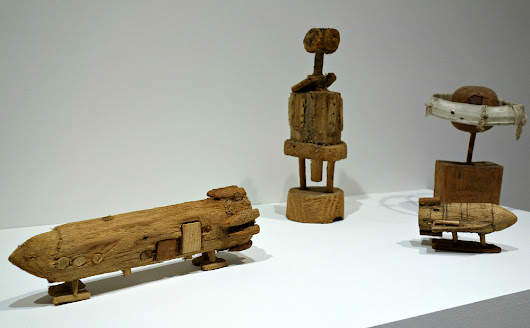 The Unearthed Wood Carvings of a Part-Time Gravedigger