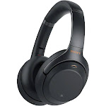 Sony WH-1000XM3 Bluetooth Wireless Over-Ear Headphones with Mic and NFC - Noise-Canceling - Black