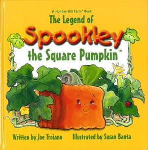 The Legend of Spookley the Square Pumpkin (with CD)