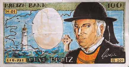 banconota misteriosa