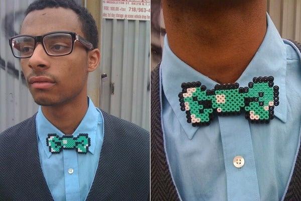 8 bit bow tie
